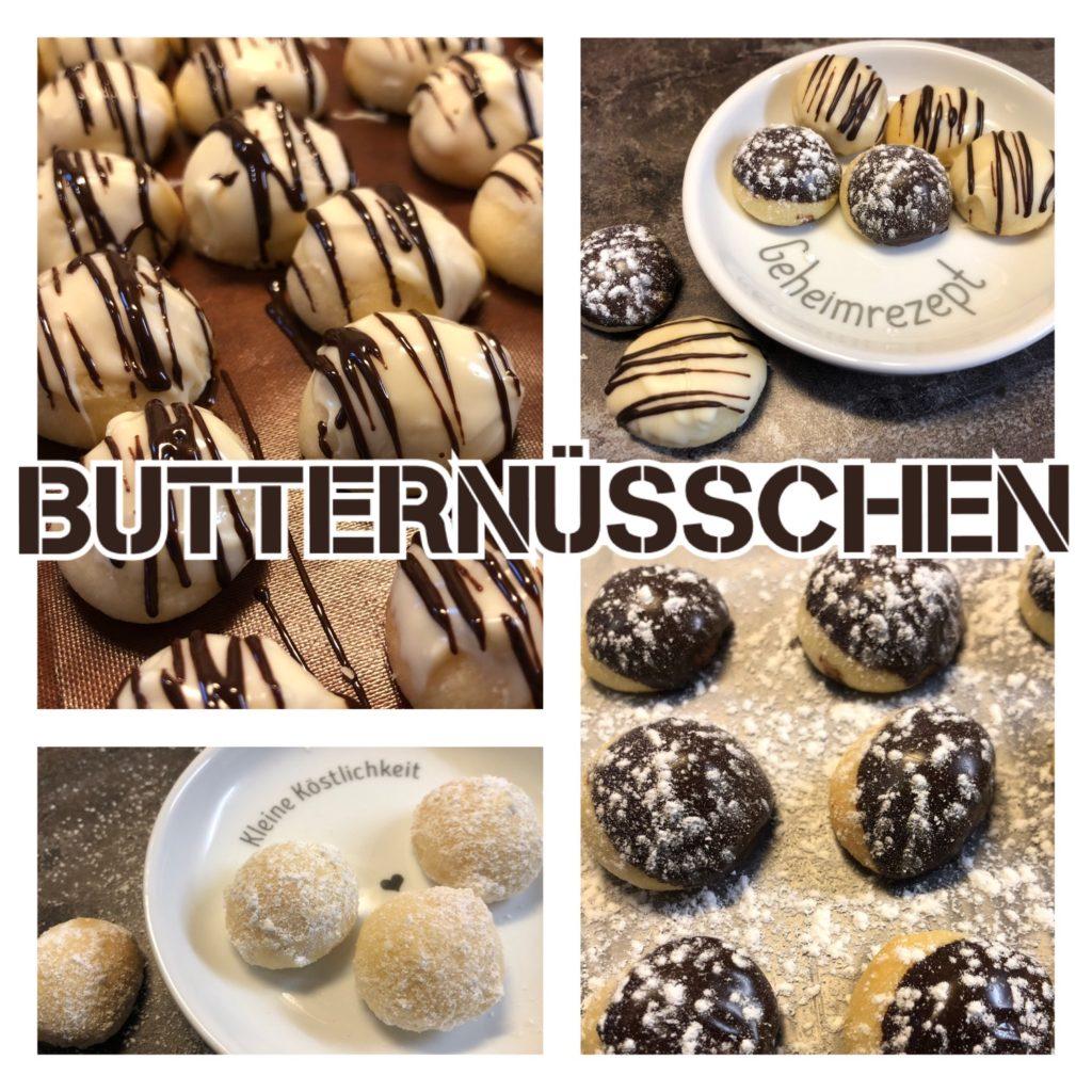 Butternüsschen (3 Varianten)
