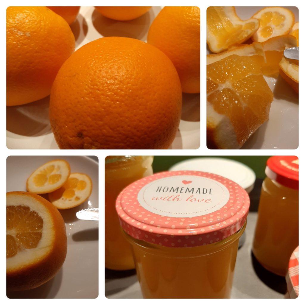 Orangen-Marmelade selbstgemacht