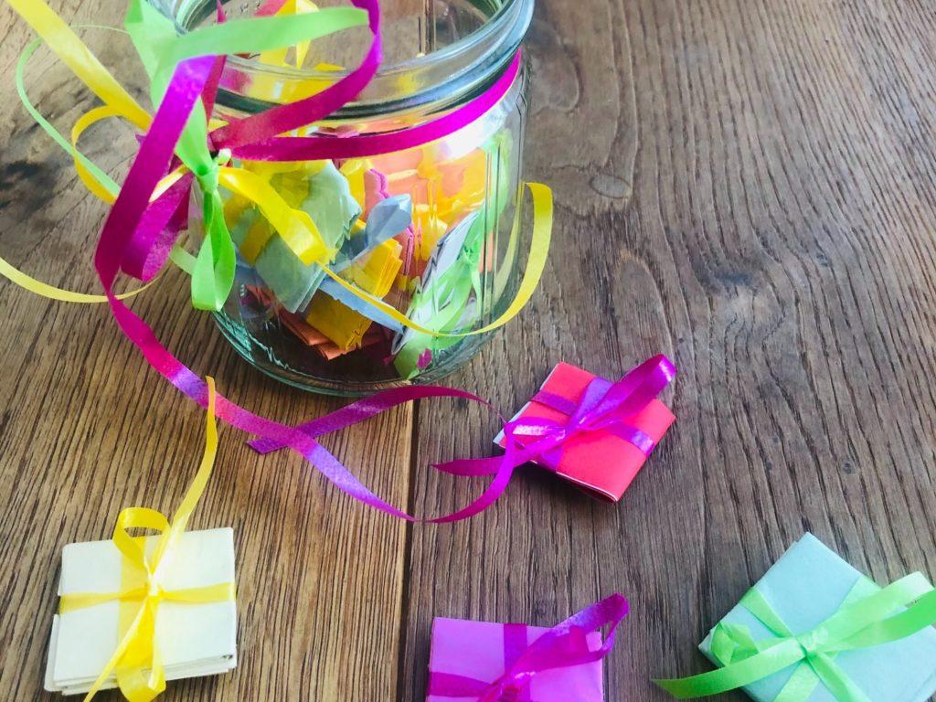 Glückspäckchen – Wunschglas