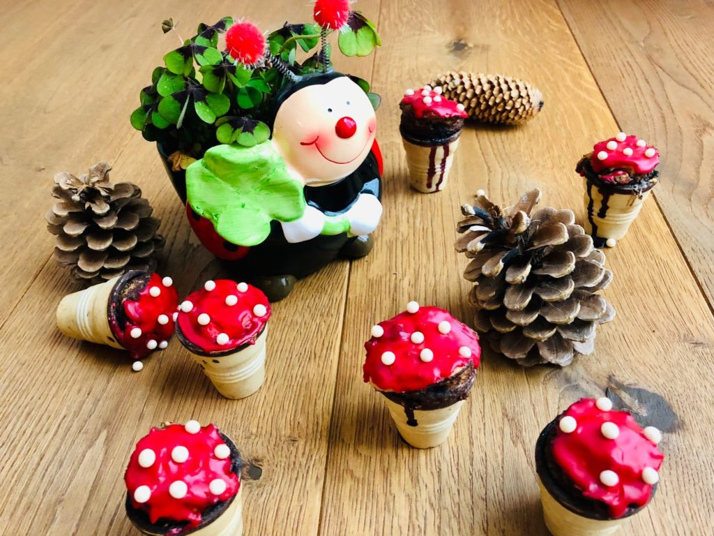 Glückspilze Mini-Muffins