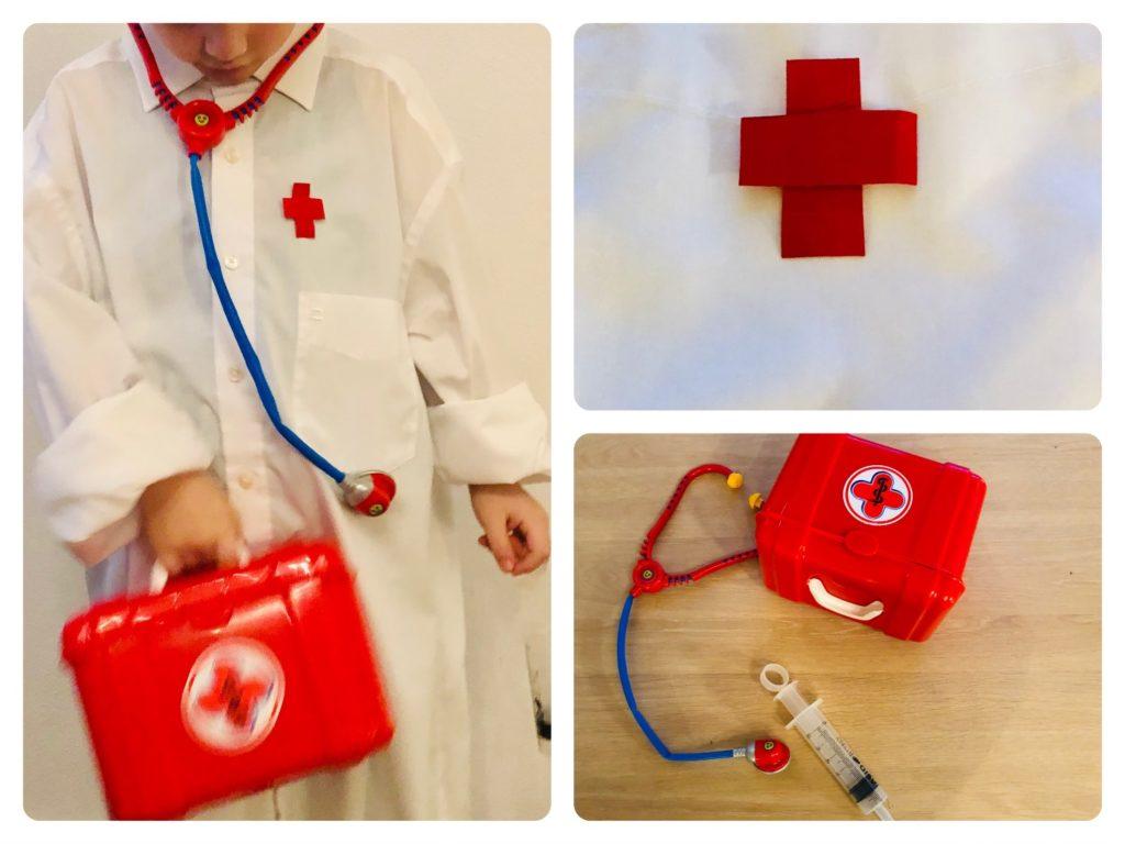 Verkleidung Arzt