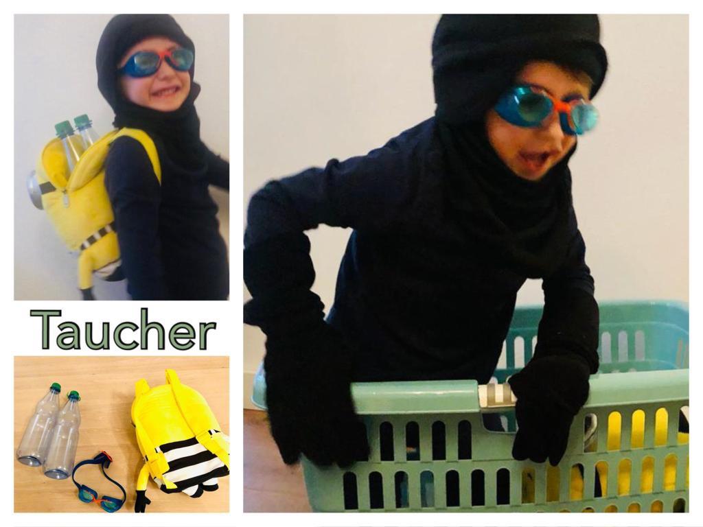 Verkleidung Taucher/Schwimmer