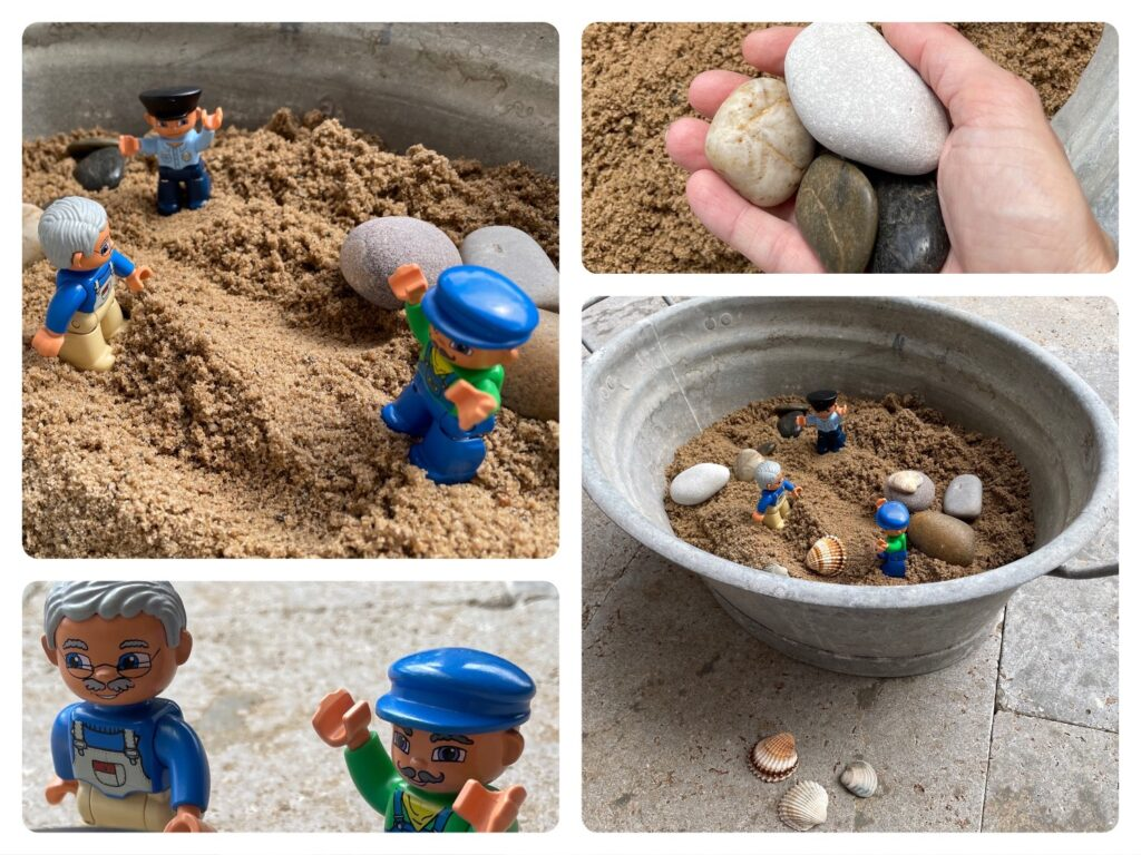 Sandwanne zum Spielen (mit vielen Ideen)