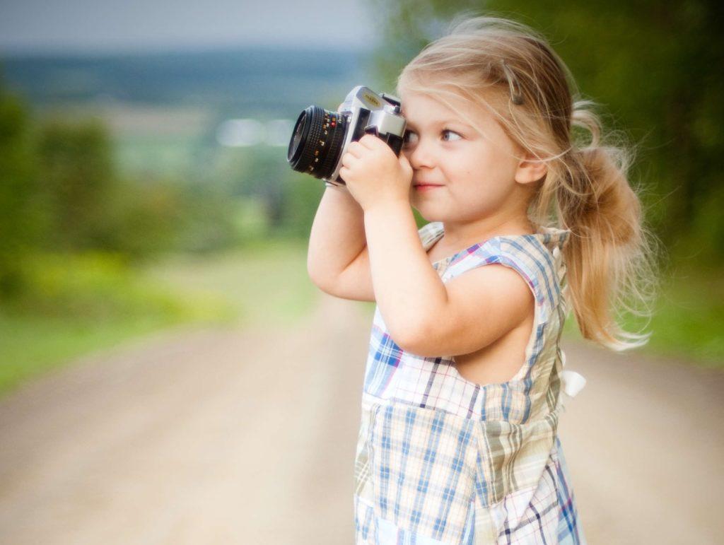Kinder fotografieren ihr zuhause