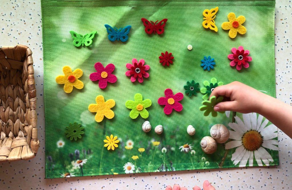 Blumenwiese legen