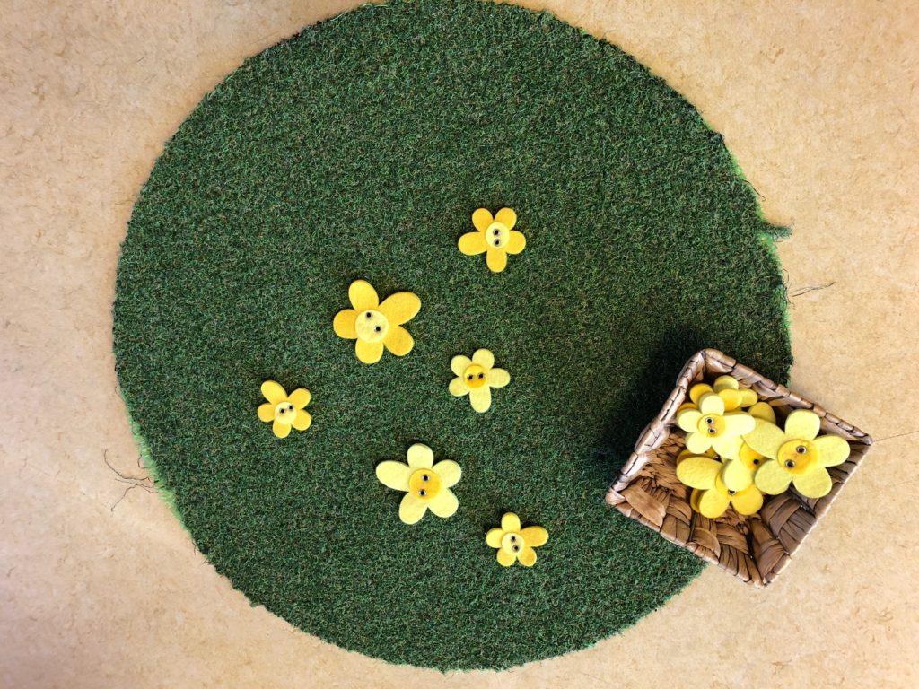 Legematerial : Blumenwiese