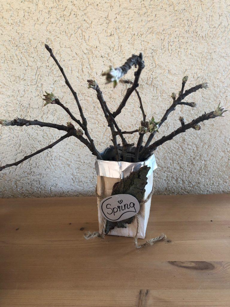 Vasen aus Tetrapack