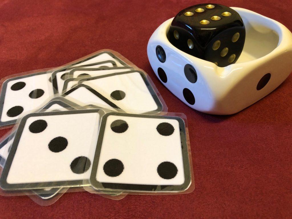 3 Spiele mit Würfeln