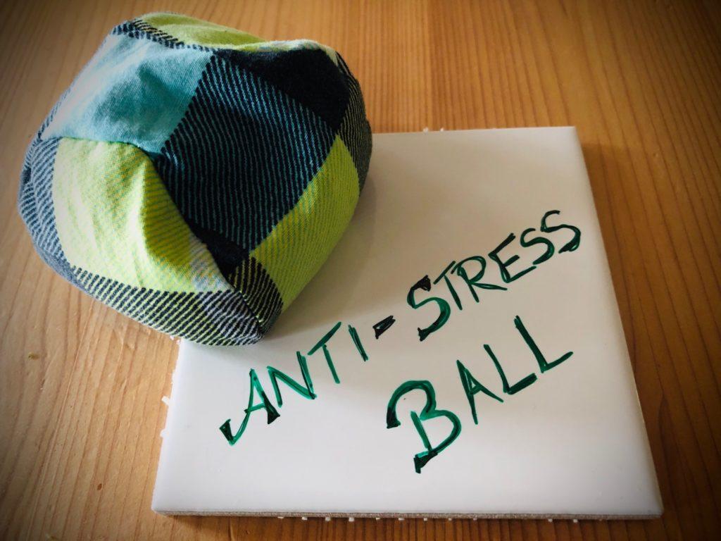 Anti-Stress-Ball nähen