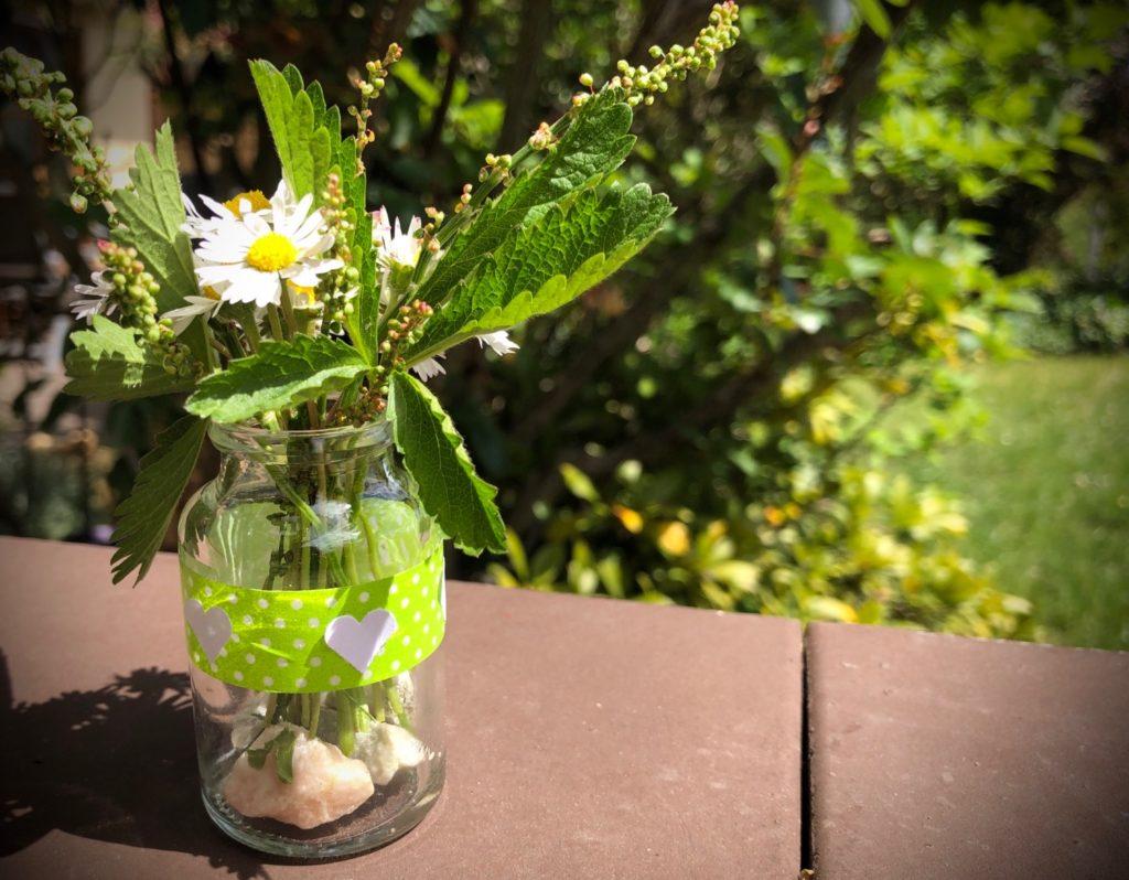 Mini Vase für kleinste Blumensträuße