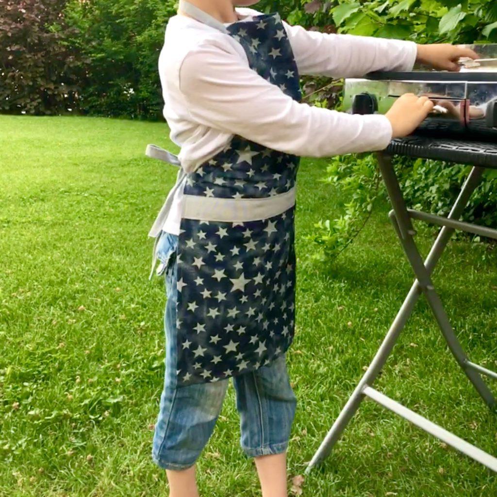 Kinder-Kochschürze nähen
