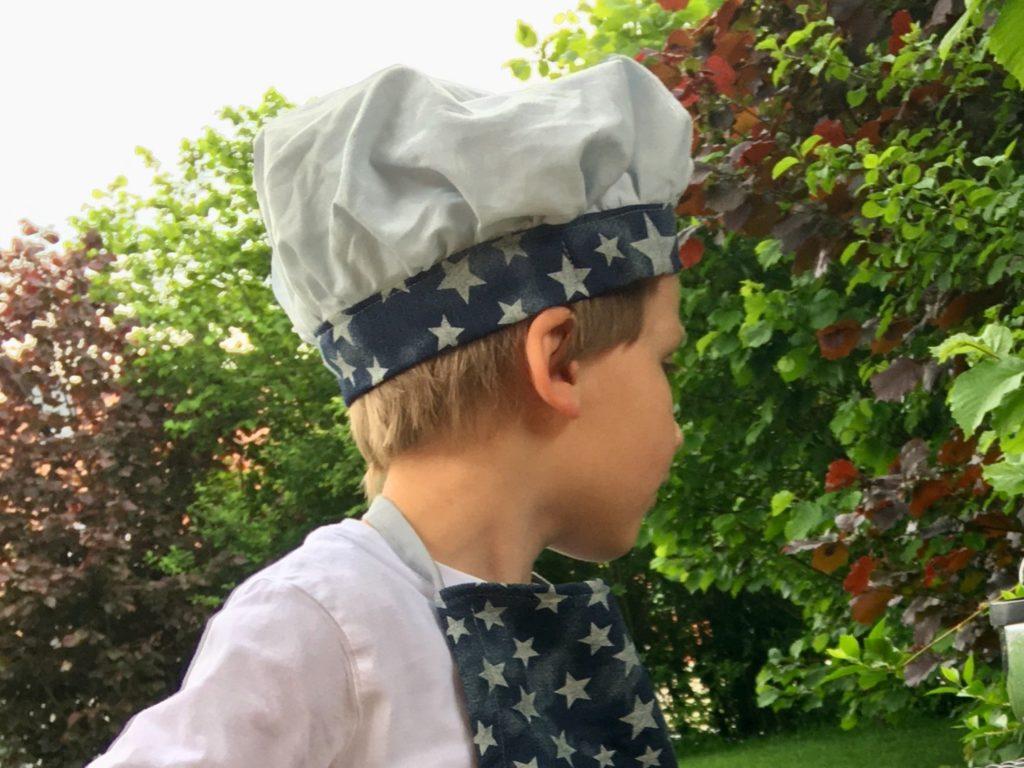 Kinder-Kochmütze nähen