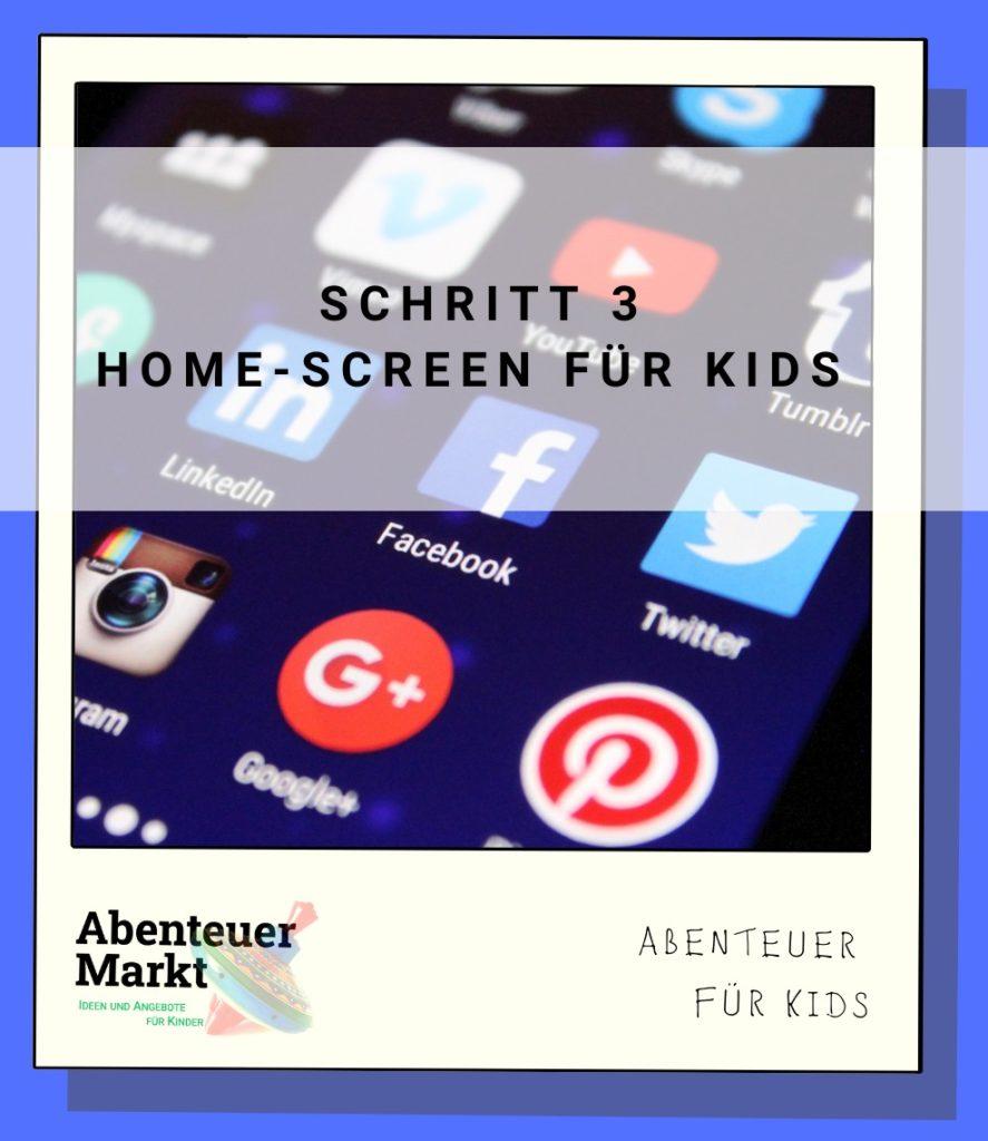 Handy (iPhone) für Kinder vorbereiten – Teil 3