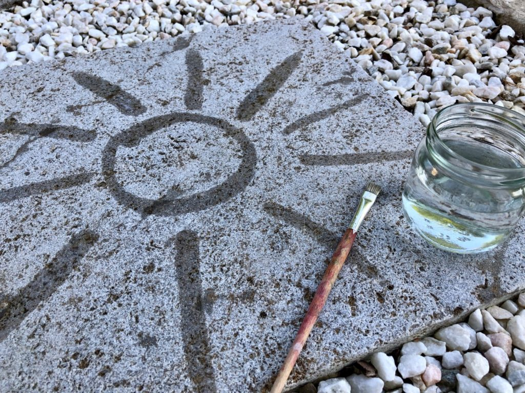 Malen mit Wasser – Wasserspiele