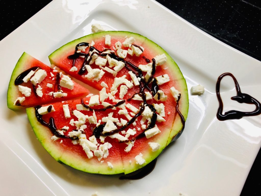 Melonen-Pizza (2 Varianten)