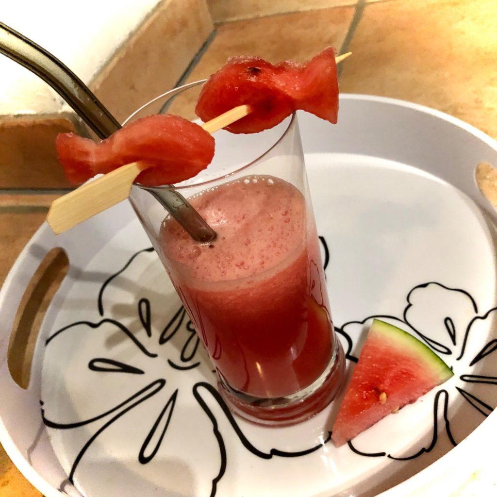 Fruchtiger Melonen-Cocktail