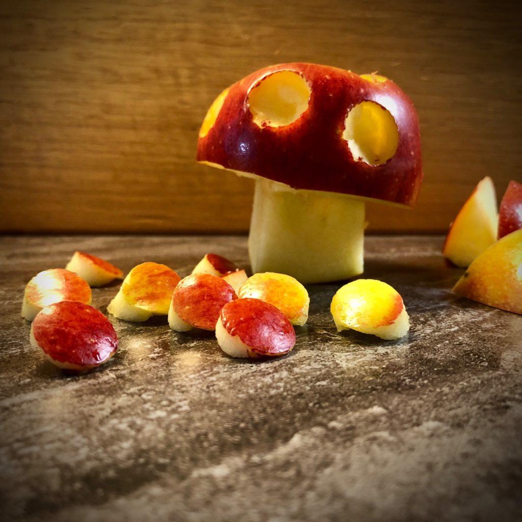 Apfel-Pliz (Apfel schnitzen)