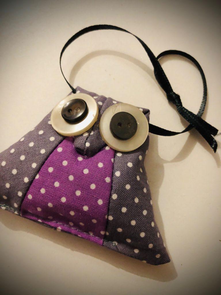 Lavendelsäckchen (Schrankeule)