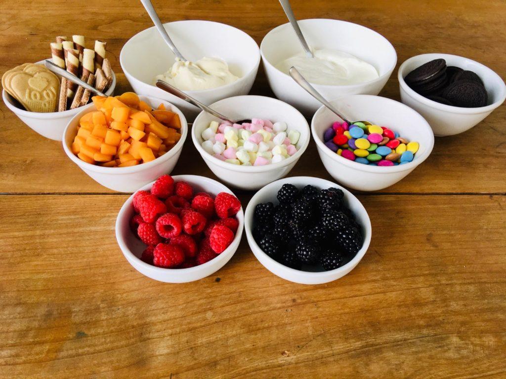 Joghurt-Schlemmer-Bar