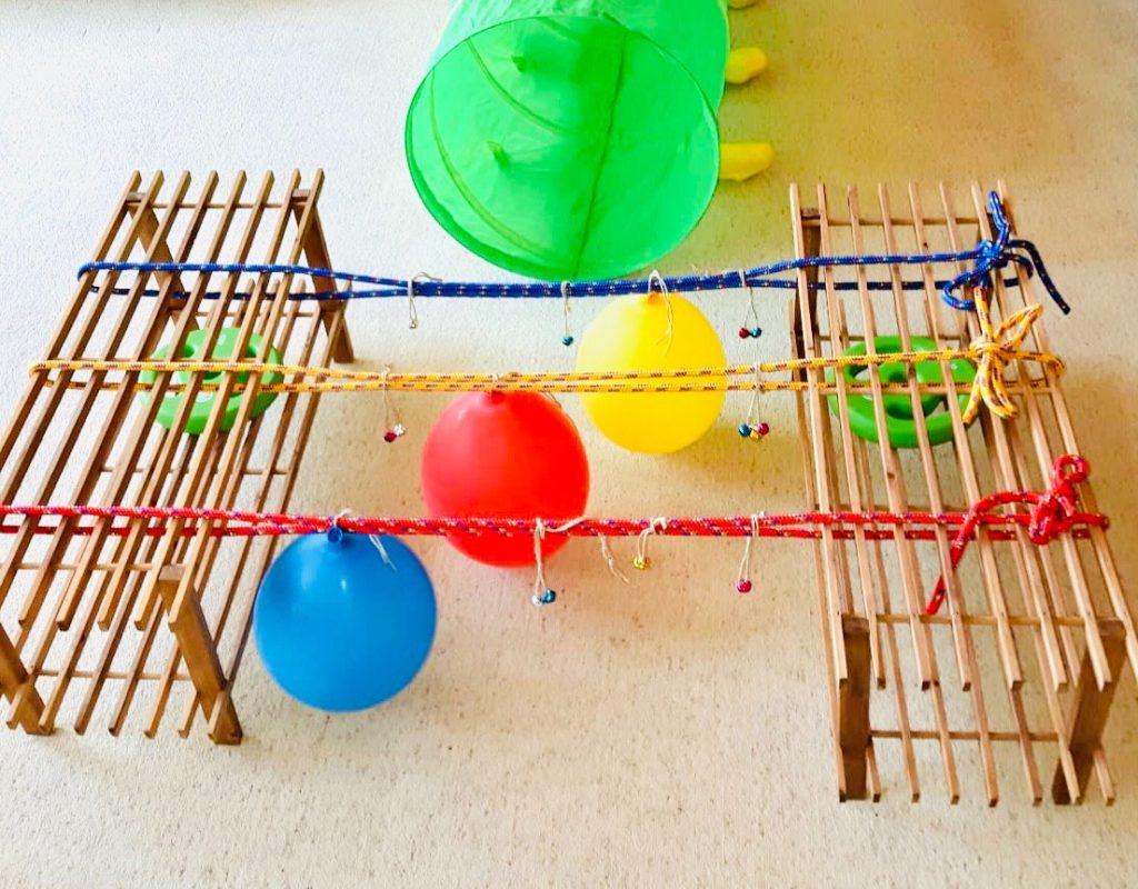 Klangparcours bauen (inkl. Spielideen)