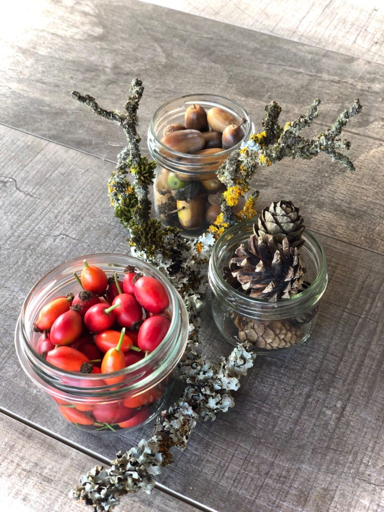 Herbst-Gläser – Herbstdekoration