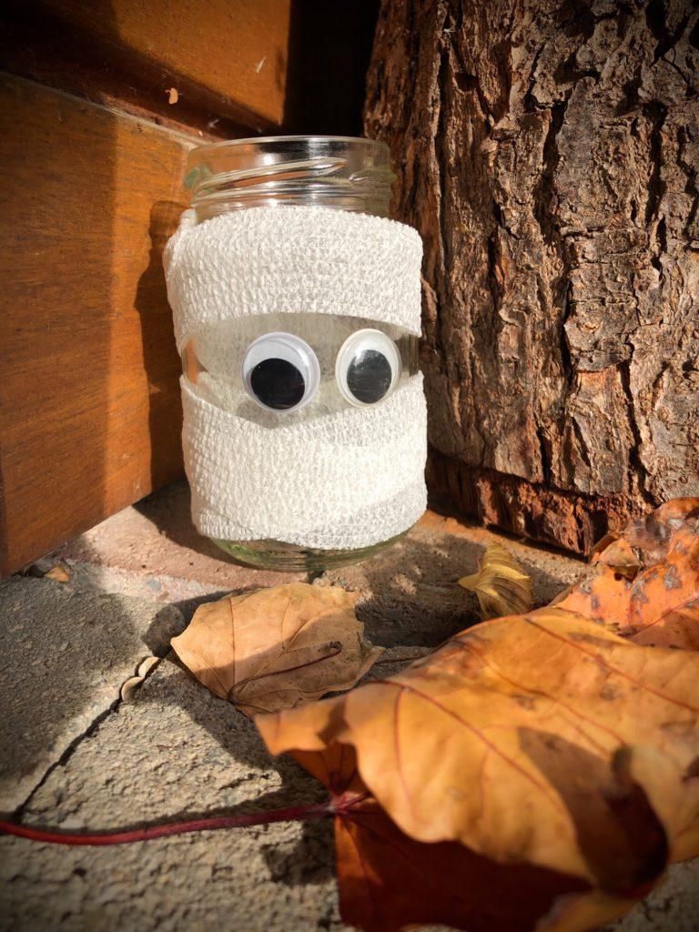 Mumien-Gläser (Tischlichter)