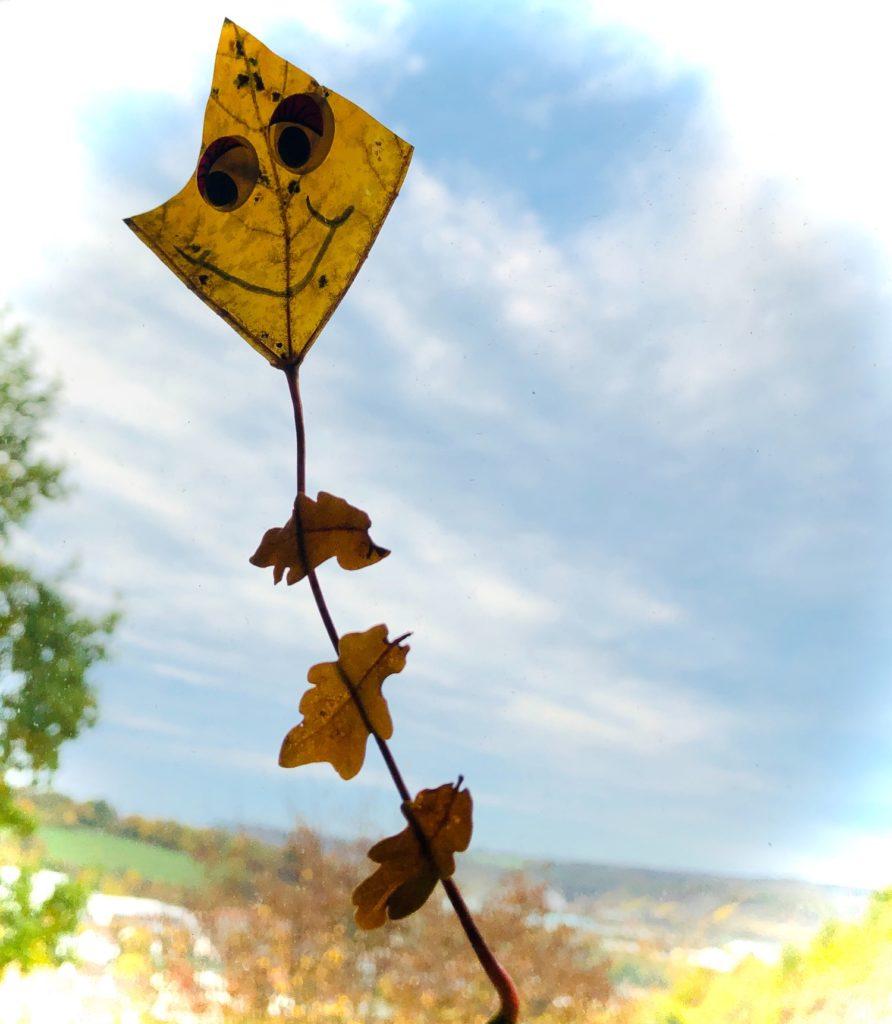 Blätter-Drachen