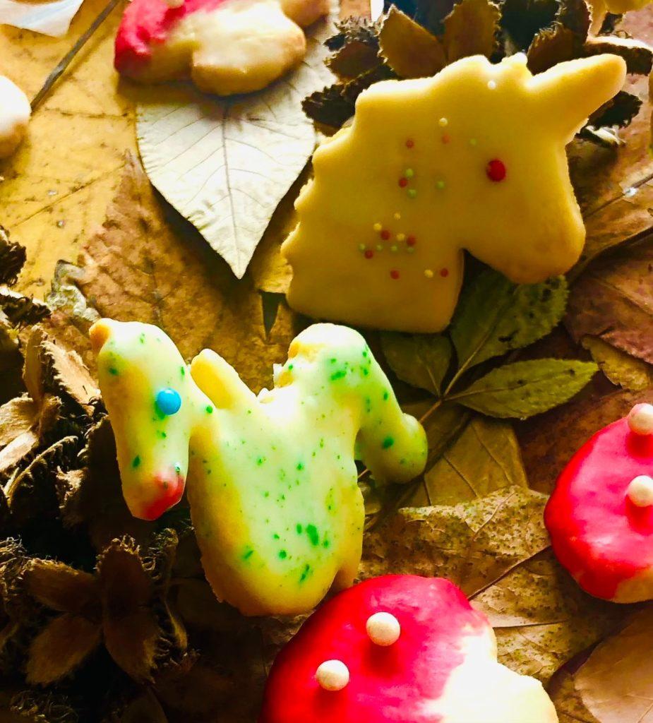 Kekse backen- im Zauberwald