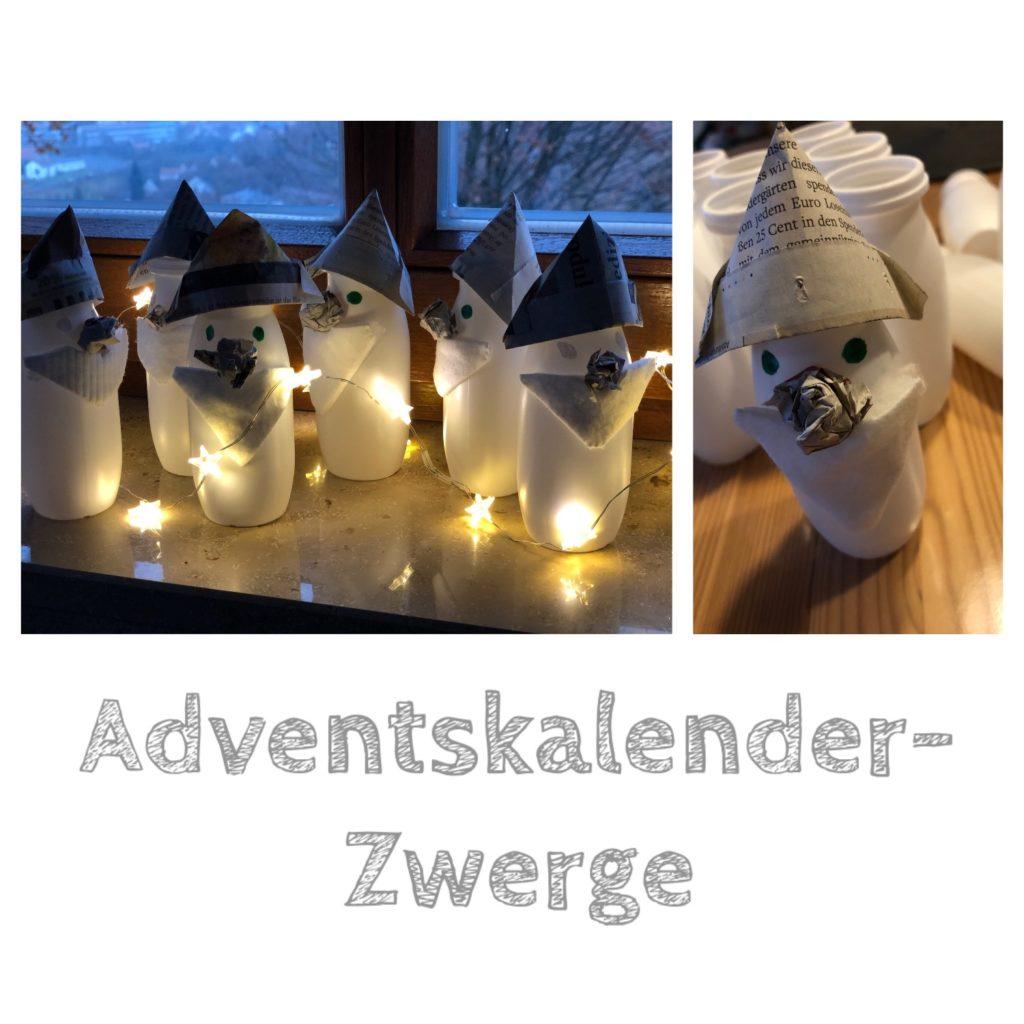 Adventskalender Zwerge