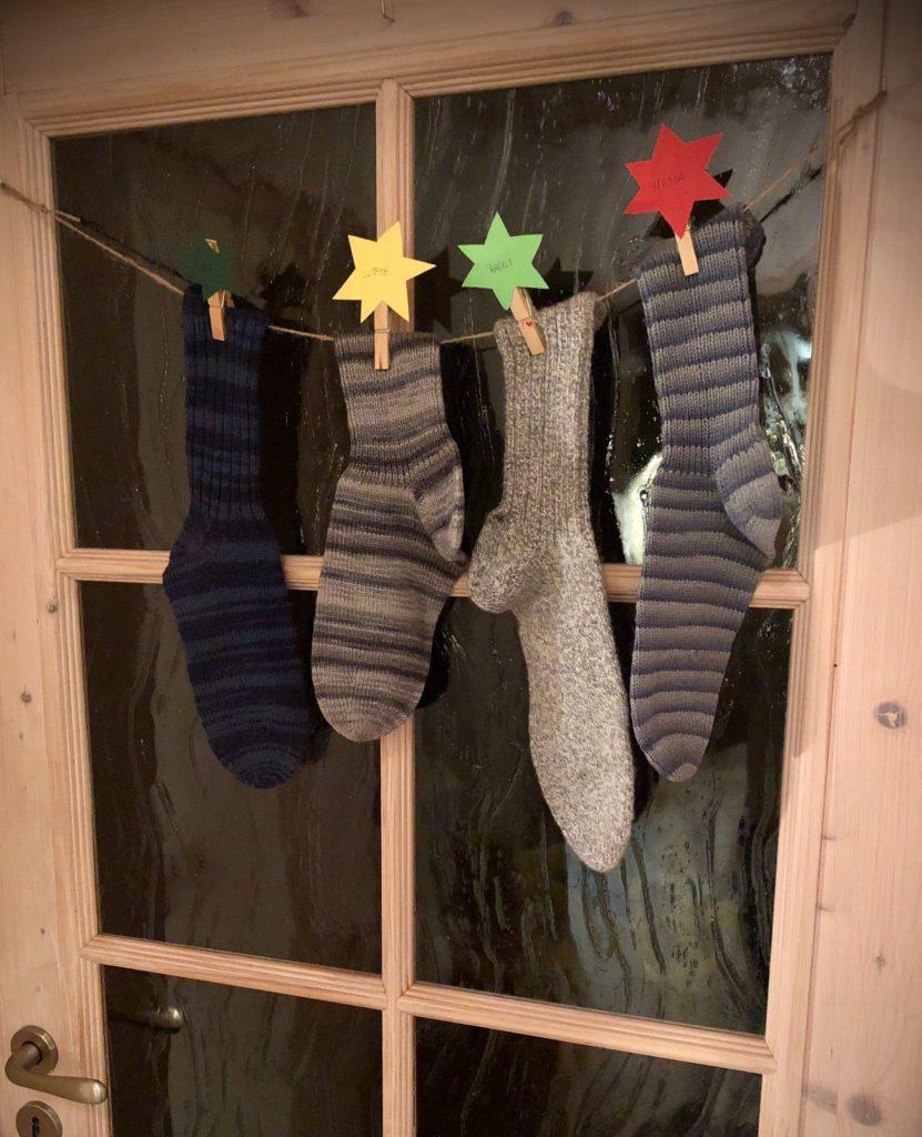 Socken für den Nikolaus